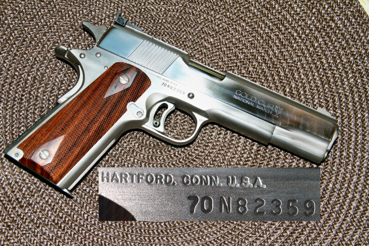 45 ACP Serial Numbered Image